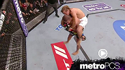 Urijah Faber locks in a standing rear naked choke in the MetroPCS move of the week.