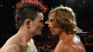 Faber vs. Jorgensen, Hall vs. Gastelum, and Tate vs. Zingano. Three promising matchups, three exciting staredowns.
