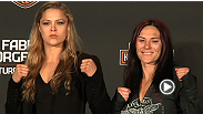 At the TUF 17 Finale, Dana White and Ronda Rousey talk about the upcoming season of TUF, which willl feature Rousey coaching opposite Cat Zingano.