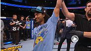 After a hard-fought victory over former Strikeforce champion Gilbert Melendez, Benson Henderson discusses his performance, then proposes to his girlfriend inside the Octagon.