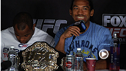 Watch highlights from the UFC on FOX 7 post-fight press conference, featuring Benson Henderson, Gilbert Melendez, Daniel Cormier, and more.
