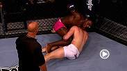 Phil Davis hands Alexander Gustafsson his first loss with a last-second choke at UFC 112.