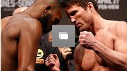 Pesagem do UFC® 159 no Prudential Center em 26 de abril, 2013 em Newark, Nova Jersey. (Foto de Josh Hedges/Zuffa LLC/Zuffa LLC via Getty Images)