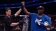 Suplexes and eye pokes and refs, oh my! Russian Sambo expert Rustam Khabilov and Tennessee football vet Ovince Saint Preux both scored UFC 159 wins after bizarre injuries inside the Octagon.