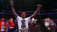 UFC light heavyweight beltholder Jon Jones retains his title, tying Tito Ortiz for most 205-pound title defenses, while Chael Sonnen salutes the champ.