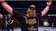 After quickly dispatching Cheick Kongo, Roy Nelson shares the secret to his knockout power - great fans.