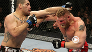 When elite wrestlers Cain Velasquez and Brock Lesnar met at UFC 121, it was only natural that the fight would be decided via... knockout. Watch Velasquez earn the UFC heavyweight title for free!