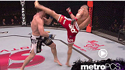 Vitor Belfort lands a high kick on Michael Bisping in the move of the week.
