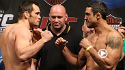 Former light heavyweight champion Vitor Belfort makes a triumphant return to the Octagon with an epic beatdown of former middleweight champion Rich Franklin at UFC 103. watch the entire fight for free!