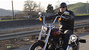 Go all-access for UFC 360's photo shoot with the baddest man on the planet. Heavyweight champion Cain Velasquez takes his new toy - the Harley Davidson motorcycle he won at UFC 155 - for a ride on the open road.