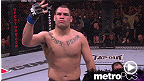Cain Velasquez earns a shot at the heavyweight title with this knockout of Minotauro Nogueira.