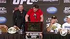 Watch the UFC 160 post-fight press conference live following the event.