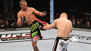 Donald 'Cowboy' Cerrone uses his vaunted striking game to soften Dennis Siver up before sinking in a choke at UFC 137.