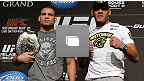 UFC 160 Ultimate Media Day at the MGM Grand Hotel/Casino on May 23, 2013 in Las Vegas, Nevada.  (Photos by Josh Hedges/Zuffa LLC/Zuffa LLC via Getty Images)