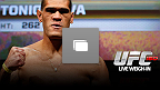 LAS VEGAS, NV - 24 de MAIO: Pesagem oficial do UFC 160 no MGM Grand Hotel/Casino. (Foto de Josh Hedges/Zuffa LLC/Zuffa LLC via Getty Images)
