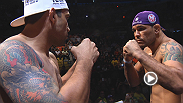 See the intense staredowns between Brazil's best: heavyweight headliners Big Nog and Fabricio Werdum, TUF finalists William Macario and Leo Santos, and light heavyweight sluggers Thiago Silva and Rafael Cavalcante.
