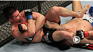 Talk about fighting fire with fire -- English middleweight John Maguire defends his opponent's kimura attempt with an armbar of his own.