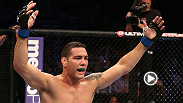 Middleweight challenger Chris Weidman reflects on the victory that earned him his title shot, his KO win over Mark Munoz.
