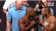 Watch the official weigh-in for UFC 161
