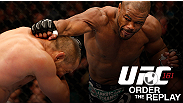 Relive every exciting moment from UFC 161, featuring Rashad Evans, Dan Henderson, Roy Nelson, Stipe Miocic, and more.