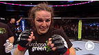 UFC 161: Alexis Davis, intervista post match