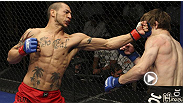 A boxer known for his nasty knockouts, Cub Swanson shows he's got submission skills to boot, as he waits until the final seconds to finish his WEC 44 opponent.
