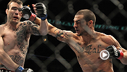 UFC featherweight Cub Swanson started his run toward title contendership with this spectacular knockout of rangy George Roop.