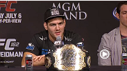 Watch the UFC 162 post-fight press conference.