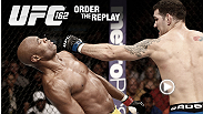 Watch the replay of UFC 162 and see an amazing victory for Chris Weidman, the new middleweight champion.