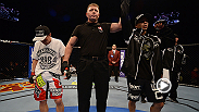 Flyweight contender John Moraga took a step up in competition and proved he could hang with the big dogs by finishing super-tough Chris Cariaso in only his second Octagon outing.