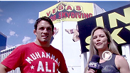 Jake Ellenberger takes a break from training to meet Paula Sack for an extreme challenge: a simulated skydive jump in Las Vegas.  Catch his fight with Rory MacDonald, live and free on UFC on FOX: Johnson vs Moraga, Saturday, July 27 at 8PM ET | 5PM PT.