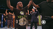 Hear the flyweight champion Demetrious 'Mighty Mouse' Johnson after he defends his belt at UFC on FOX 8.