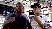 Cezar Ferreira first made news as inaugural winner of the first season of TUF Brasil. Now, one year after that decisive victory, 'Mutante' faces fellow Brazilian Thiago Santos at UFC 163. Hear how he has been training, then watch the battle go down.