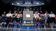 UFC® 163 media day at Circo Voador on August 1, 2013 in Rio de Janeiro, Brazil. (Photos by Josh Hedges/Zuffa LLC/Zuffa LLC via Getty Images)