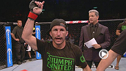 "Flyweight contender Ian ""Uncle Creepy"" McCall earns his first win inside the Octagon with a unanimous decision over Iliarde Santos in an exciting three round war."