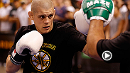 UFC lightweight Joe Lauzon takes us through his open workouts, photo shoots and more just a few days before his fight with Michael Johnson on August 17 at the TD Garden Arena in Boston, Massachusetts.