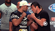 Humor, hype and title hopes are on display during the FOX Sports 1 pre-fight press conference -- hear from Chael Sonnen, Shogun Rua, Joe Lauzon, Urijah Faber and more.