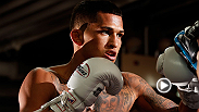 Anthony 'Showtime' Pettis is focused and ready for his lightweight title fight against Benson Henderson at UFC 164, live Saturday, August 31.