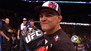 Kelvin Gastelum discusses his first welterweight fight and how he took advantage of a dazed Brian Melancon at UFN Indy.