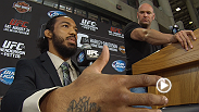 Today in Milwaukee: Lightweight champion Benson Henderson and challenger Anthony Pettis talk about their important rematch at the press conference, while TUF Live winner Michael Chiesa counts down to the Harley-Davidson 110th anniversary celebration.