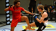 Two bantamweights with boxing credentials surprise the onlookers with their strategies as Jessica Rakoczy fights Revelina Berto to get into the TUF 18 house.