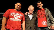 See the press conference announcing UFC® FIGHT NIGHT: HUNT vs. BIGFOOT at the Brisbane Entertainment Centre on December 7. Headlining heavyweight Mark Hunt, light heavyweight Anthony Perosh and Tom Wright, UFC director of operations, meet with media.