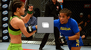 Photos from the second episode of The Ultimate Fighter season 18, including Julianna Pena's bout with Shayna Baszler.