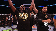 """I've been asking for a dogfight for a while, and I finally got that..."" said champion Jon Jones after defending his light heavyweight title for a UFC-record sixth time. Check out the rest of Jones' reaction and Alexander Gustafsson's humble response."
