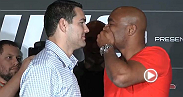 Dana White is psyched for the Weidman-Silva rematch, and so are the fans who came out to the UFC 168 press conference in Las Vegas on Tuesday. See highlights from the big event.