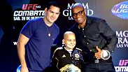 Watch the Weidman vs. Silva 2 press conference from Sao Paulo, Brazil.