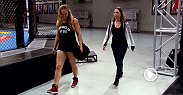 Ronda Rousey's Mom, and former World Judo champion, Ann Maria DeMars stops by, fighters struggle to eat clean, and David Grant and Louis Fisette prepare for their bout on episode 5 of The Ultimate Fighter.