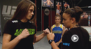 Jessamyn Duke and Raquel Pennington share their thoughts on David Grant's win over Louis Fisette and how excited they are to finally share the Octagon after previously missing out on the chance to fight each other before entering the TUF house.