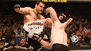 Mirko Cro Cop had an impressive string of first-round finishes before running into Gabriel Gonzaga at UFC 70. Gonzaga stopped the vet with a vicious head kick, earning himself a heavyweight title shot against Randy Couture.