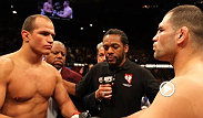 On October 19th, Cain Velasquez and Junior Dos Santos complete their heavyweight trilogy on MMA's biggest stage. Plus, Roy Nelson takes on unbeaten Daniel Cormier while Diego Sanchez returns against former Strikeforce champion Gilbert Melendez.